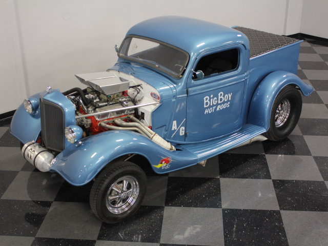 30's & 40's Ford gasser 17794010