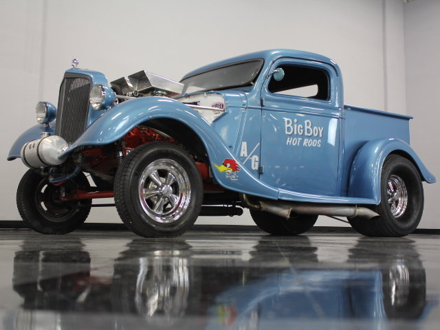 30's & 40's Ford gasser 17794510