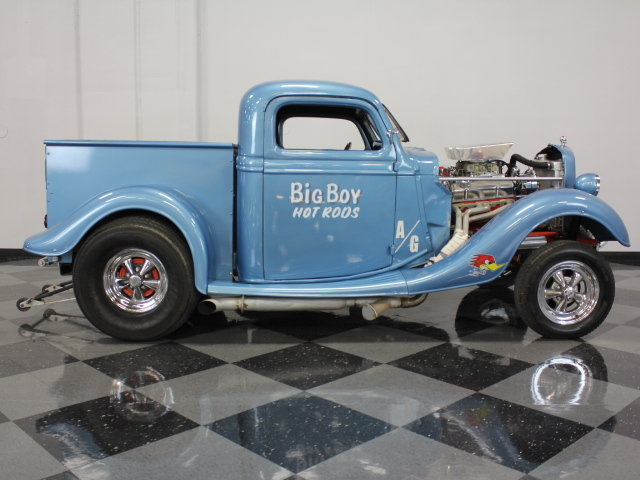 30's & 40's Ford gasser 17794610