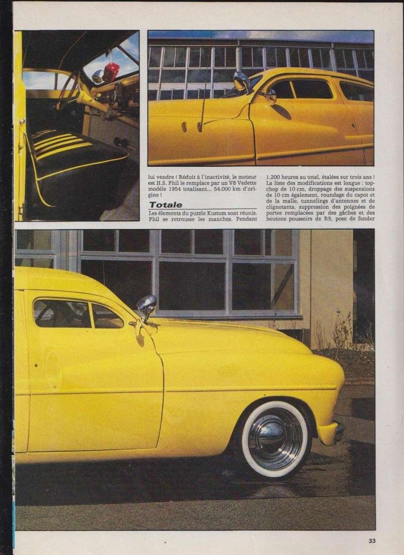 Tranches d'Ananas - Ford Vedette Leadsled - Nitro 1812