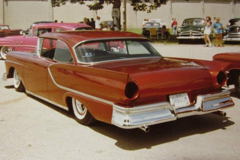 Ford 1957 & 1958 custom & mild custom  19029210