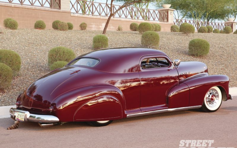 Chevrolet 1946 - 48 custom & mild custom 1948-c20