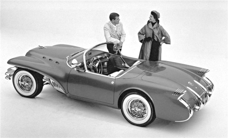1954 Buick Wildcat II Motorama Dream Car  1954-b10