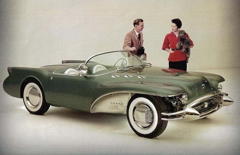 1954 Buick Wildcat II Motorama Dream Car  1954_b12