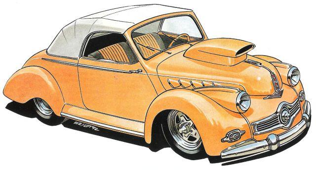 Pascal Meslet - custom , hot rod & VW illustrateur 19_22510
