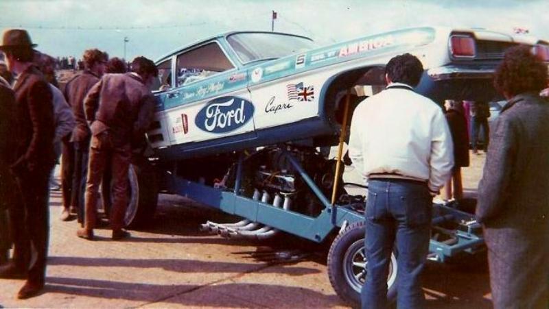 Corgi Dragster - 1/43 scale - Drag Racing 2-310