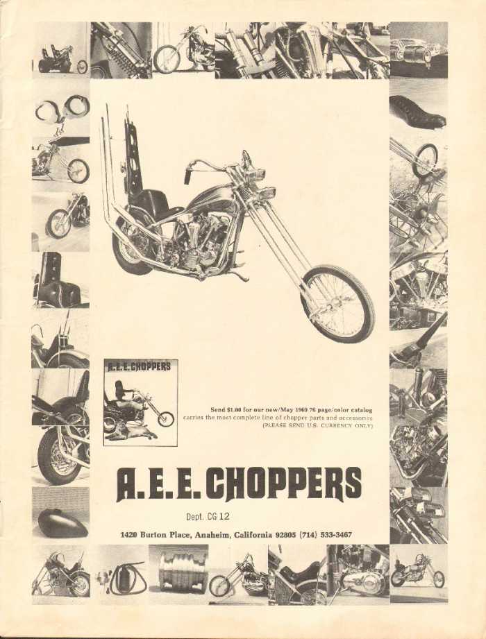 Publicité Choppers & Custom bikes  - Choppper parts ads 2006_p10