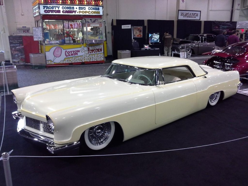 Lincoln Continental 1956 - 1957 custom & mild custom 2014-012