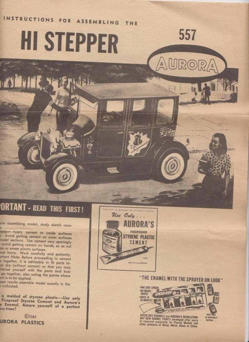 1922 Ford hot rod - Aurora - Hi Stepper - 1/32 - 214