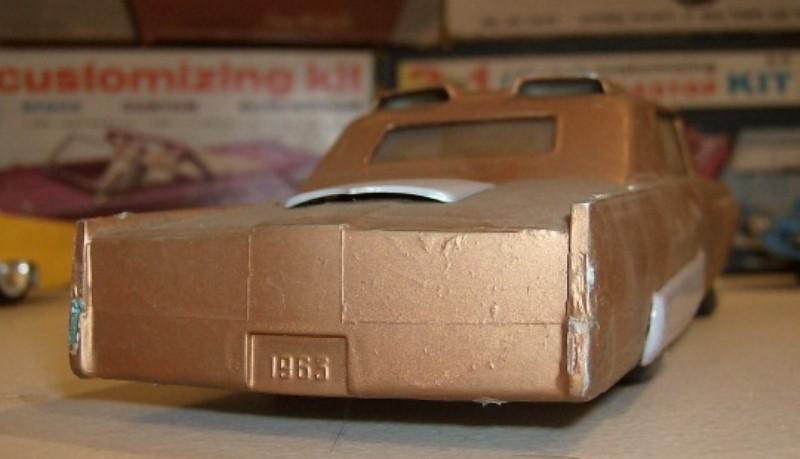 Vintage built automobile model kit survivor - Hot rod et Custom car maquettes montées anciennes 22843311