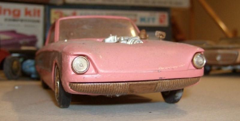 Vintage built automobile model kit survivor - Hot rod et Custom car maquettes montées anciennes 22843910