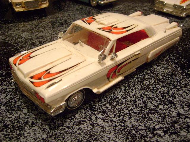 Vintage built automobile model kit survivor - Hot rod et Custom car maquettes montées anciennes 23033010