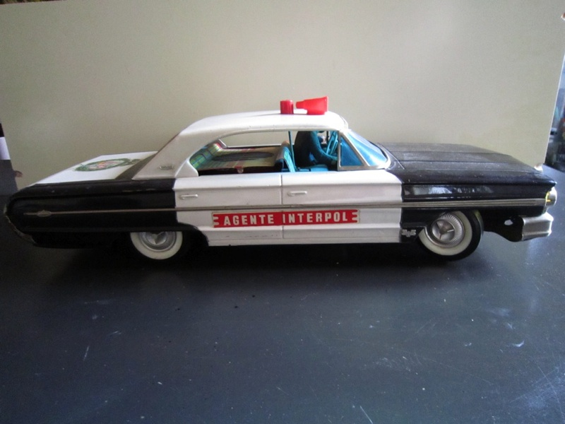 us car -  tôle - Tin Toys -  1950's & 1960's - Page 2 2bdde410