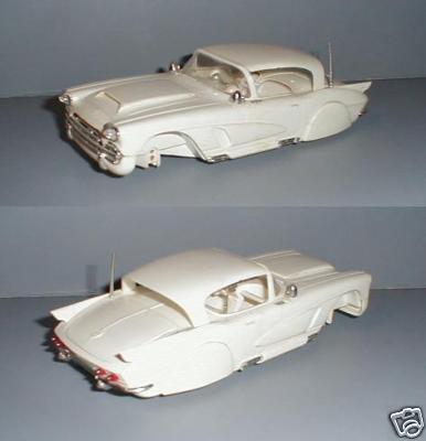 Vintage built automobile model kit survivor - Hot rod et Custom car maquettes montées anciennes 2e27_110