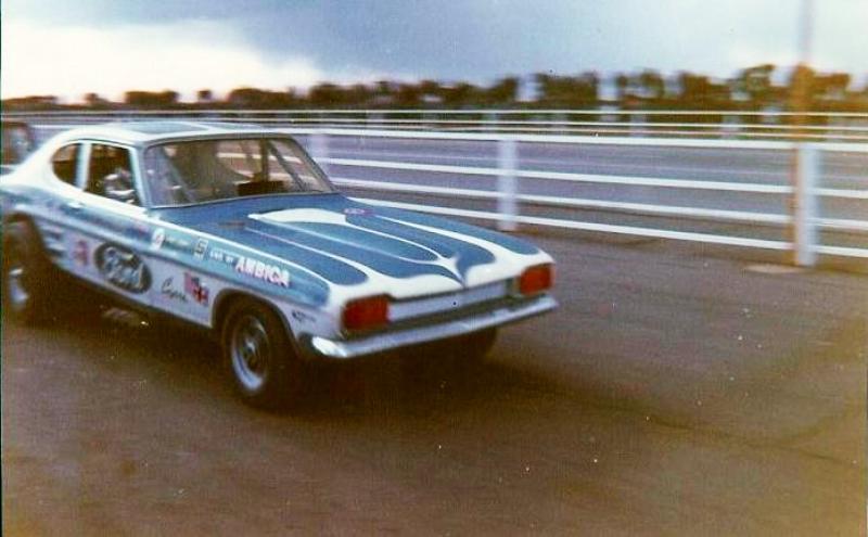 Corgi Dragster - 1/43 scale - Drag Racing 3-410