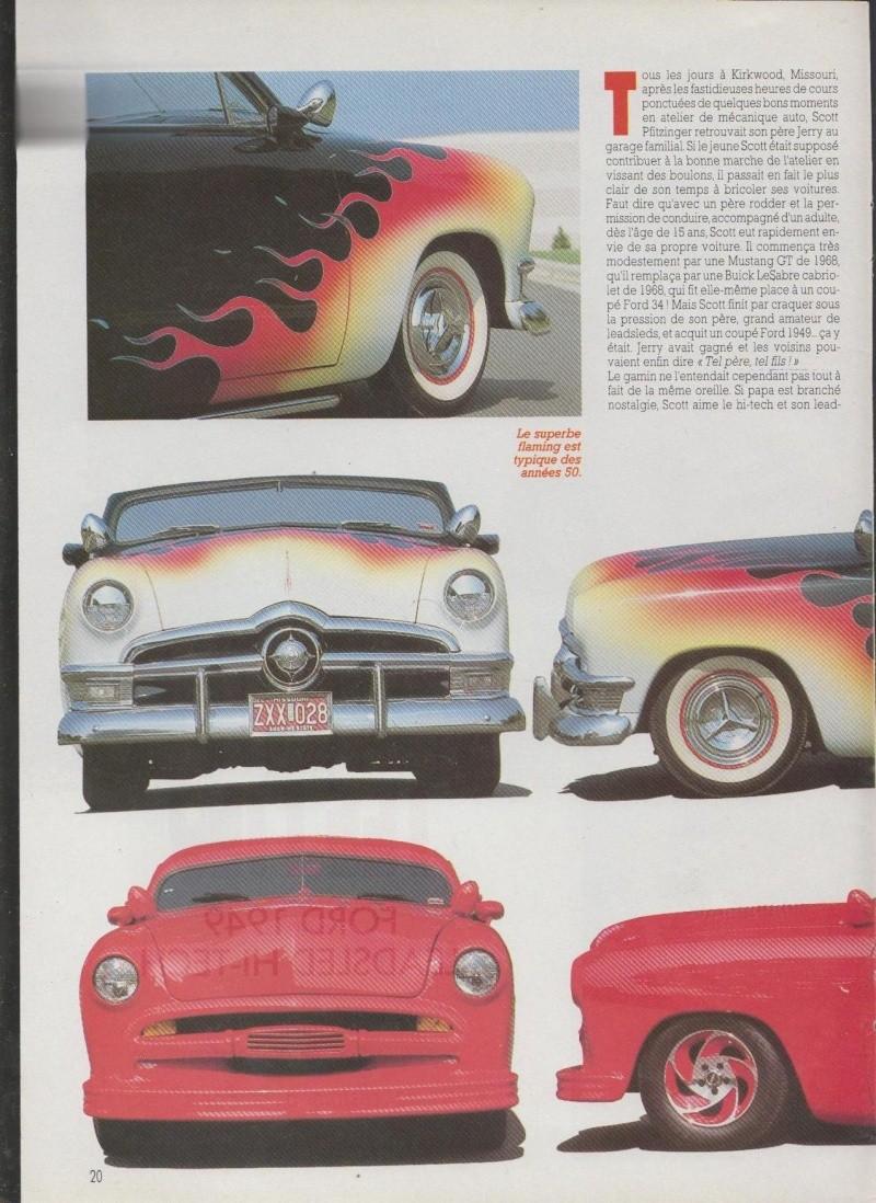 Tel Pere tel fils - Ford 1950 nostalgia sled - Ford 1949 Leadsled hi-tech 3111