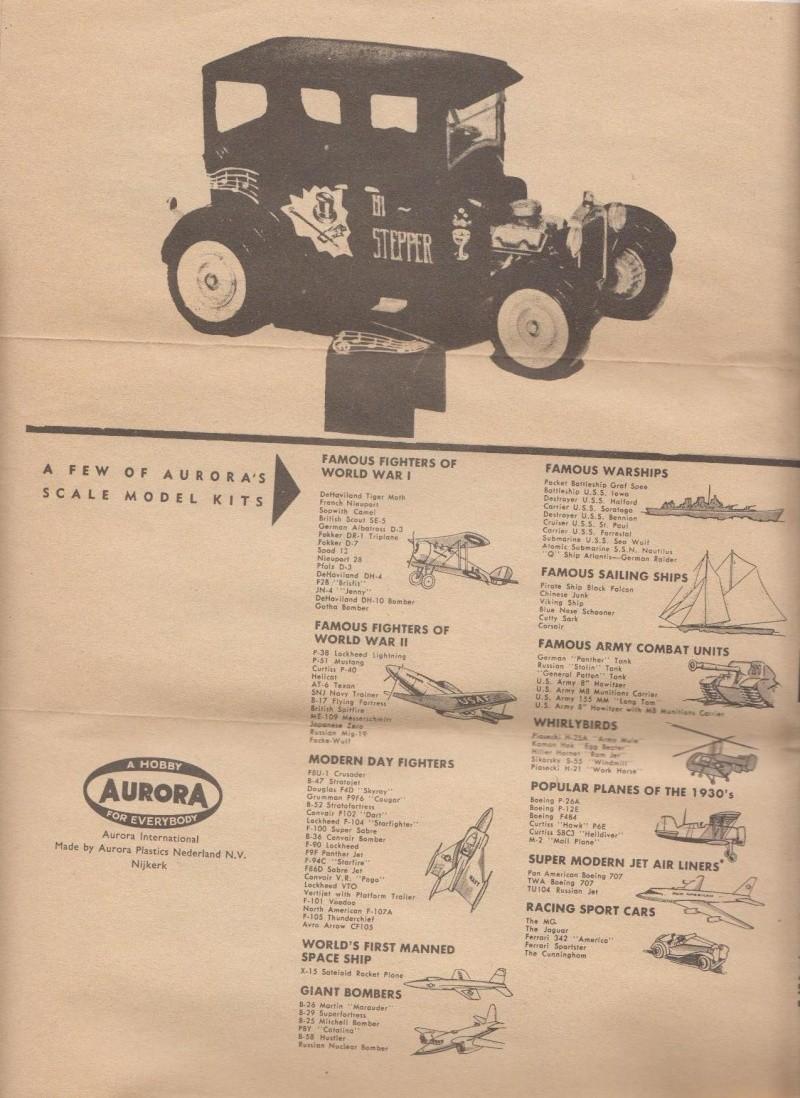 1922 Ford hot rod - Aurora - Hi Stepper - 1/32 - 313