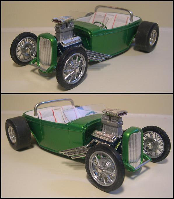 Vintage model kit restaurés, ou kit monté top trouvé sur le web 32pveb10