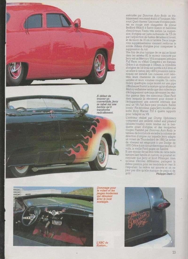 Tel Pere tel fils - Ford 1950 nostalgia sled - Ford 1949 Leadsled hi-tech 3411