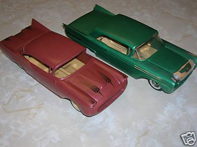 Vintage built automobile model kit survivor - Hot rod et Custom car maquettes montées anciennes 3505_110