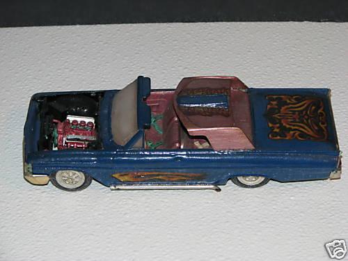 Vintage built automobile model kit survivor - Hot rod et Custom car maquettes montées anciennes 3805_110
