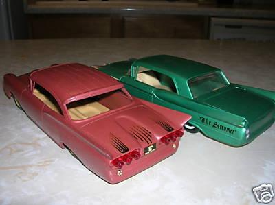 Vintage built automobile model kit survivor - Hot rod et Custom car maquettes montées anciennes 38fd_111