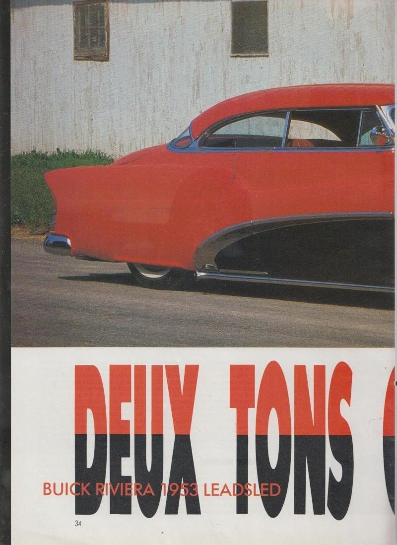 Deux tons c'est bon - Buick Riviera 1953 Leadsled - Nitro 3911
