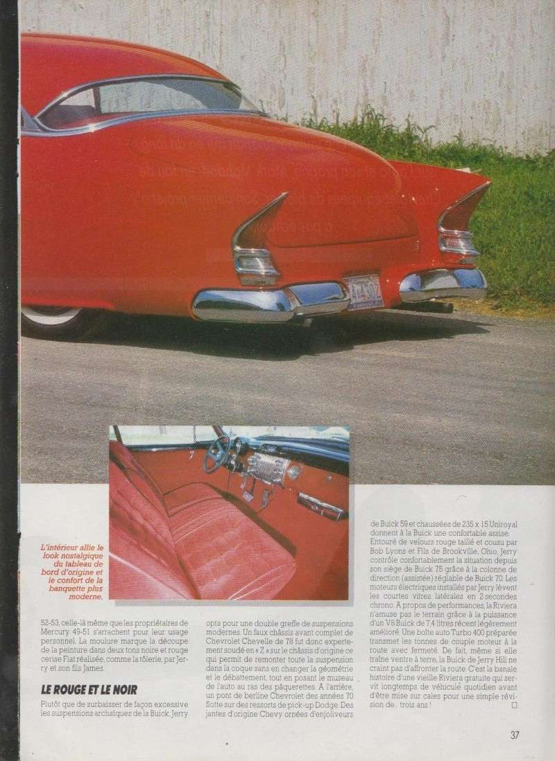 Deux tons c'est bon - Buick Riviera 1953 Leadsled - Nitro 4211