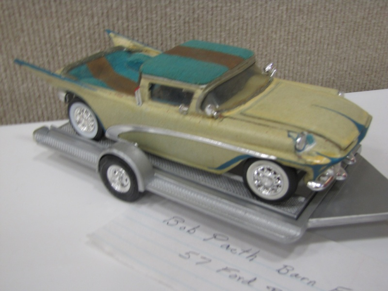 Vintage built automobile model kit survivor - Hot rod et Custom car maquettes montées anciennes 45512110