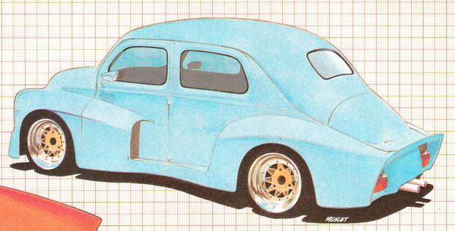 Pascal Meslet - custom , hot rod & VW illustrateur 4cvpml10