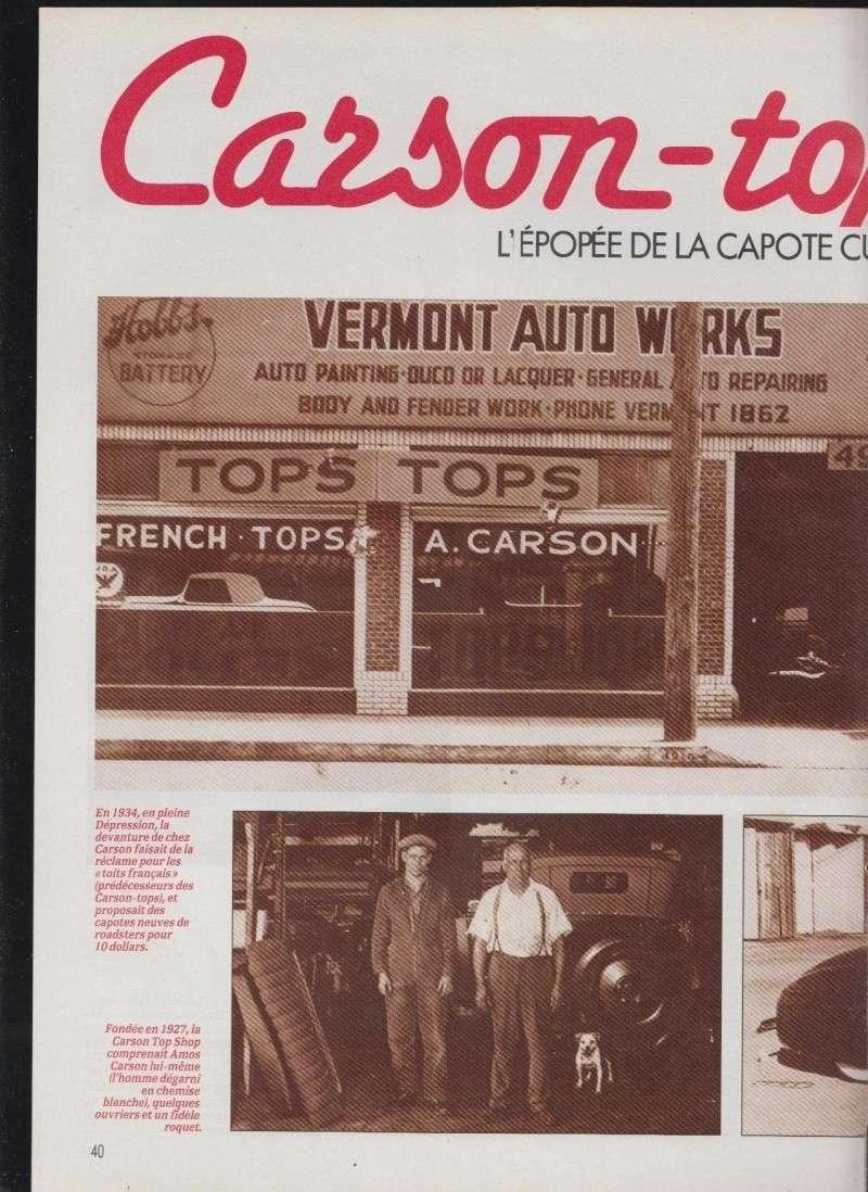 Carson top - l'épopée de la capote rigide - Nitro 512