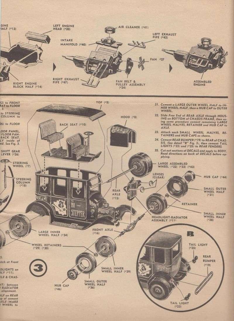 1922 Ford hot rod - Aurora - Hi Stepper - 1/32 - 514