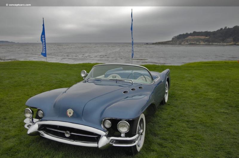 1954 Buick Wildcat II Motorama Dream Car  54-bui11