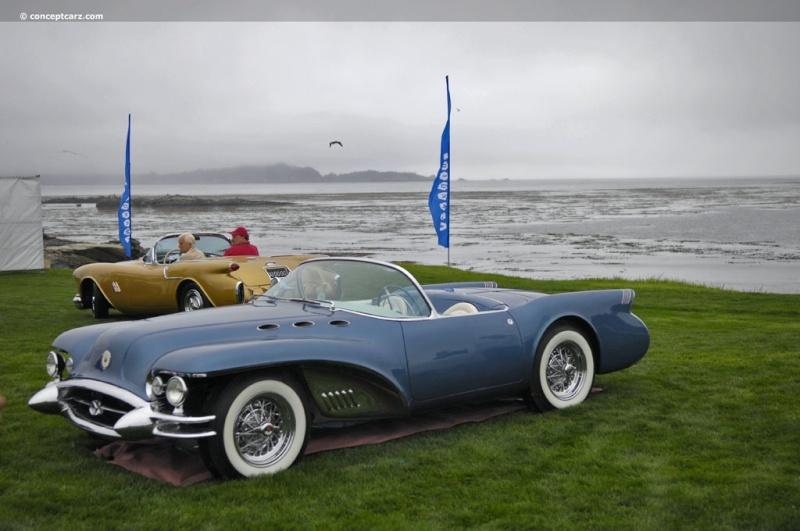 1954 Buick Wildcat II Motorama Dream Car  54-bui12
