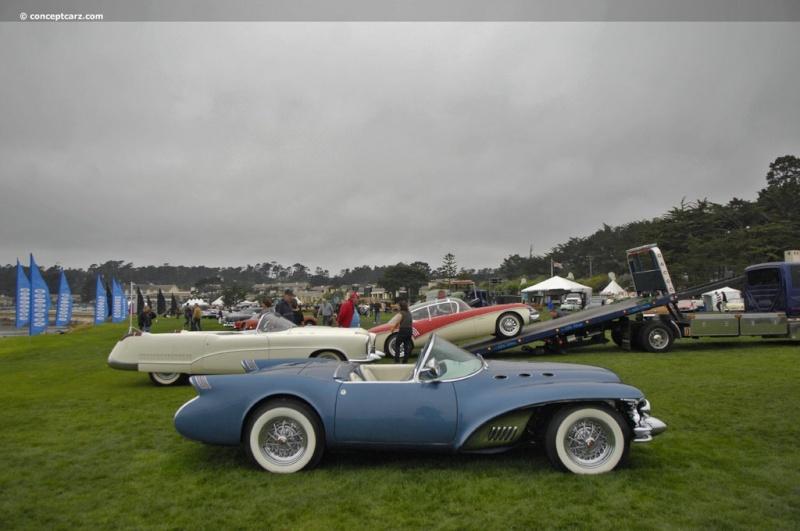 1954 Buick Wildcat II Motorama Dream Car  54-bui14