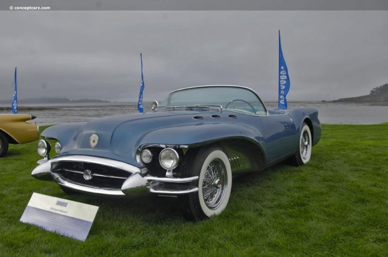 1954 Buick Wildcat II Motorama Dream Car  54-bui16