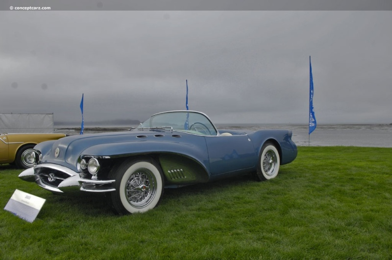 1954 Buick Wildcat II Motorama Dream Car  54-bui17