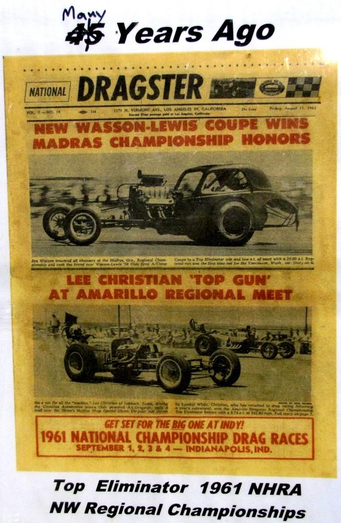 Slingshot & vintage dragster  55468110