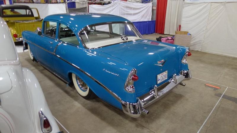 Chevy 1956 custom & mild custom - Page 2 56chev11