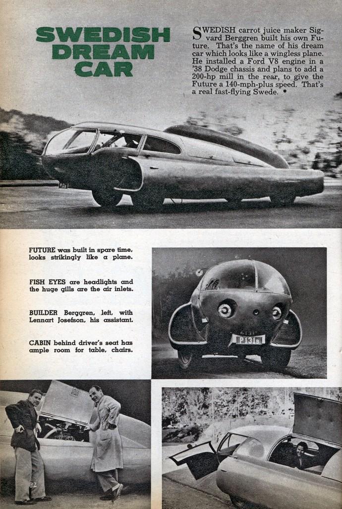 Future car 1951 - Sigvard Berggren 58935710