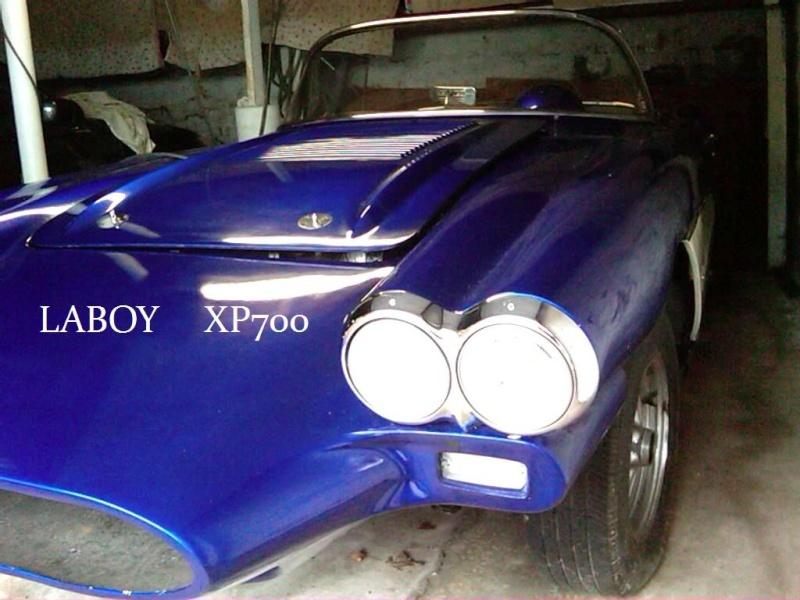 1958 Chevrolet Corvette XP-700 58xp7012