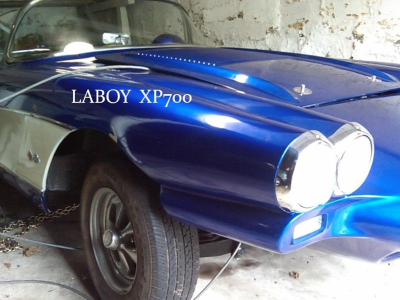 1958 Chevrolet Corvette XP-700 58xp7o10