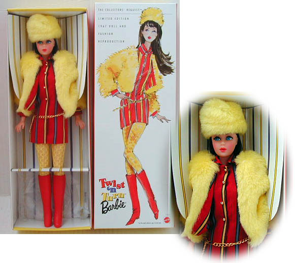 The Original Teenage Fashion Model Barbie Doll - Poupée Barbie des 1950's et 1960's 601-0310