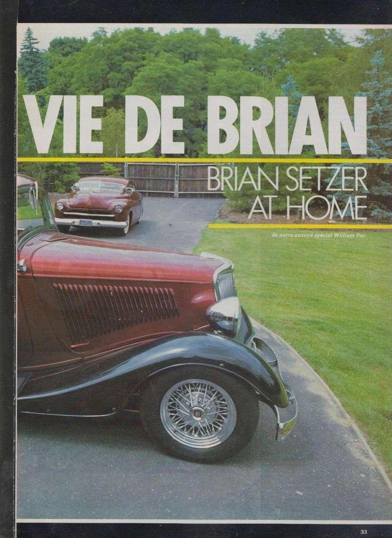 La vie de Brian - Brian Setzer at home - Nitro 6011