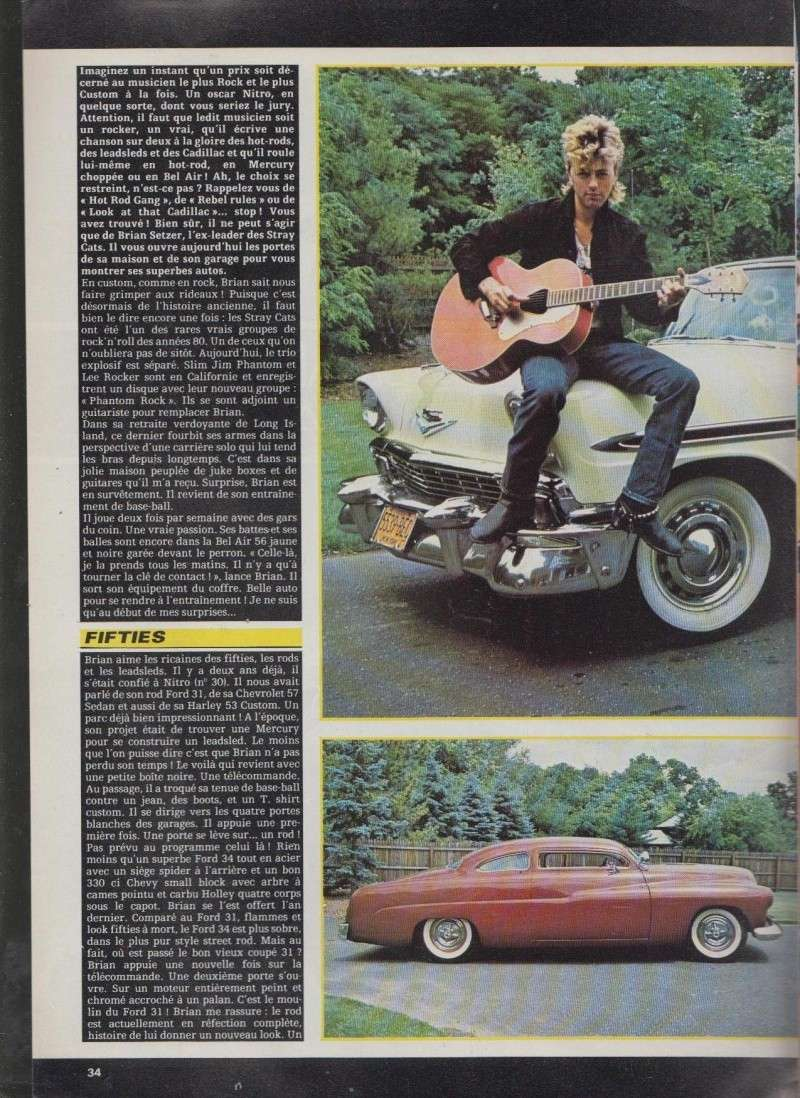 La vie de Brian - Brian Setzer at home - Nitro 6111