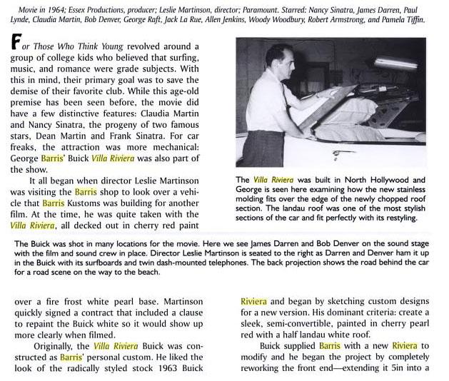1963 Buick Riviera - Villa Riviera - George Barris 620