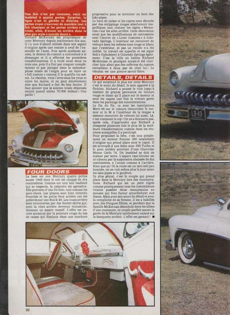 4 portes - Mercury 1949 leadsled - Nitro 6911