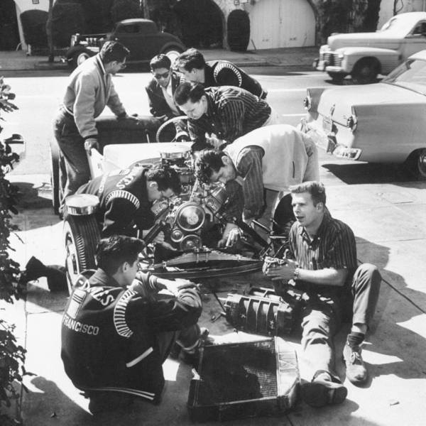 1950's & 1960's hot rod / custom car club 73381910