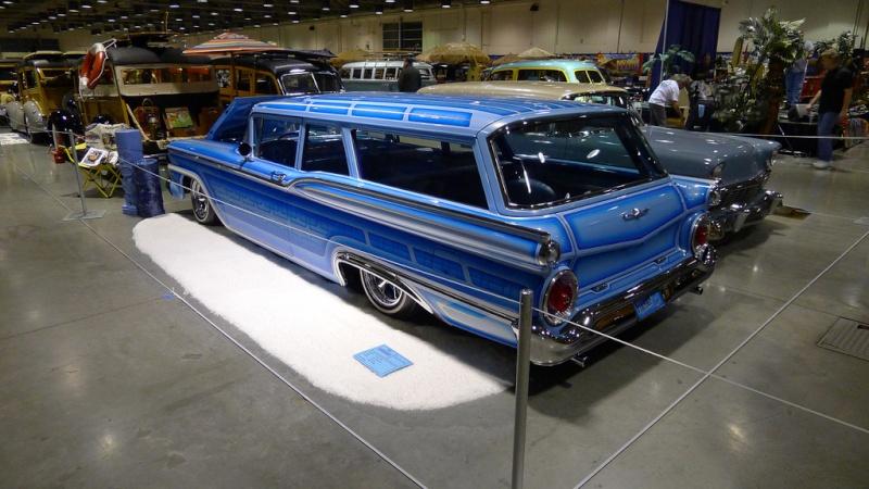 Ford 1959 custom & mild custom 84125011