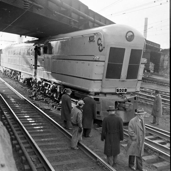 Locomotives et trains vintages 9c659010